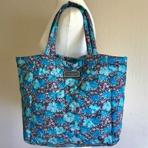 Marc Jacobs Puffer Tote - Blue Floral